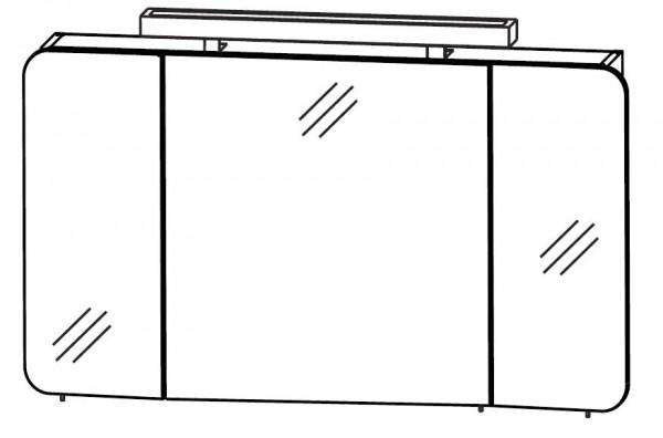 Puris Speed Spiegelschrank 100 cm breit S2A48103