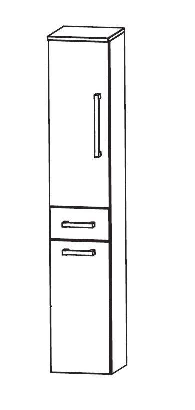 puris speed bad hochschrank 30 cm breit mit w schekippe. Black Bedroom Furniture Sets. Home Design Ideas