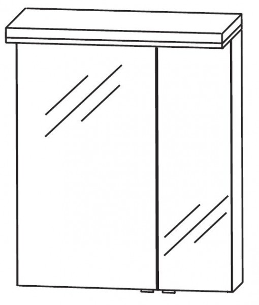 Puris Cool Line Spiegelschrank 60 cm breit S2A436A69 L/R
