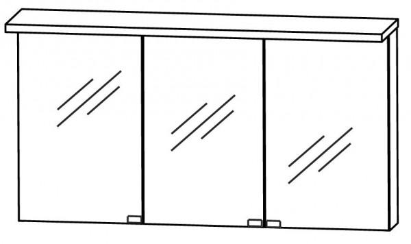 Puris Star Line Spiegelschrank 140 cm breit S2A431416