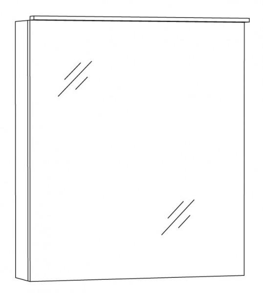 Marlin Bad 3130 - Azure Spiegelschrank 60 cm breit SFLA6 L/R