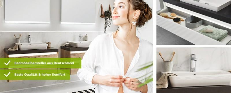 Berühmt Waschtisch & Waschtischunterschrank » günstig kaufen | Badmöbel-1 UX02