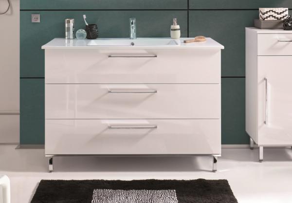 puris quada waschtisch mit unterschrank 100 cm breit setqu101 2 badm bel 1. Black Bedroom Furniture Sets. Home Design Ideas