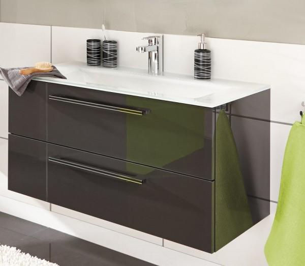 Puris Brillant Waschtisch mit Unterschrank 90,6 cm breit