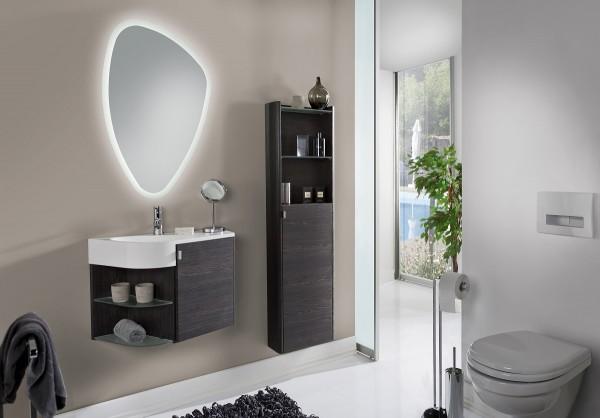 Marlin Gästebad 3010.3 – Sun Badmöbel Set 65 cm breit kombinierbar