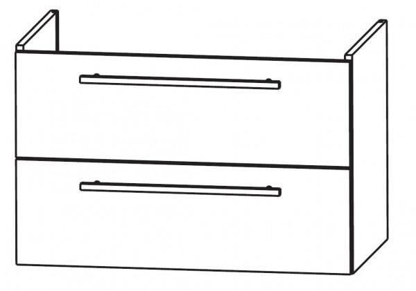 Puris Waschtischunterschrank für Duravit Starck3 maßvariabel