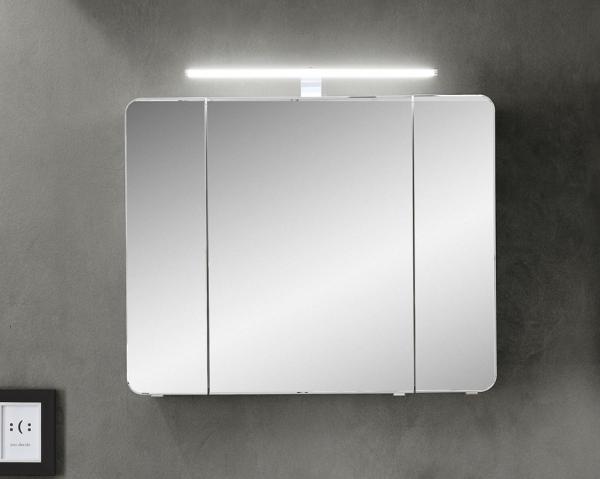 Pelipal fokus 4005 spiegelschrank 90 cm breit mit for Spiegelschrank 30 cm breit